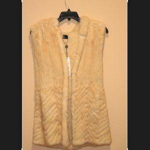 Love Token Hooded Fur Vest